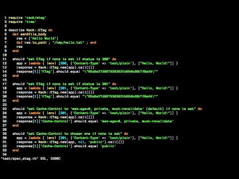 FuzzyFinder Screencast - Vim Plugin