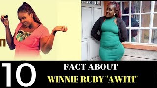Kenyan Sauce| TOP 10 UNKNOWN FACTS ABOUT AWITI TRHK |