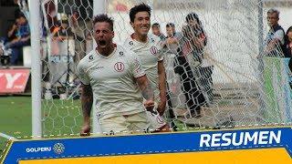 Resumen: Universitario vs. Comerciantes Unidos (2-0)