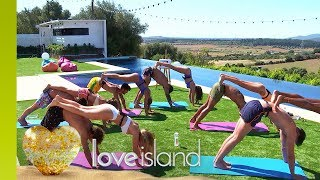 The Islanders Loosen Up With Couples' Yoga | Love Island 2018