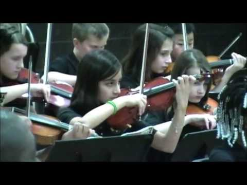 Brown Deer Middle School Orchestra 5th Grade 12-20-2011.wmv