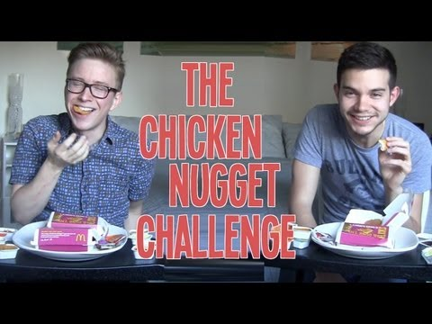 The Chicken Nugget Challenge (2013) | Tyler Oakley thumbnail