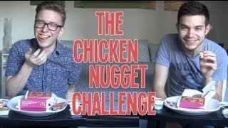 The Chicken Nugget Challenge (2013) | Tyler Oakley