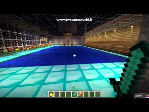 Minecraft piscine municipale de awesomeworld youtube for Piscine municipale
