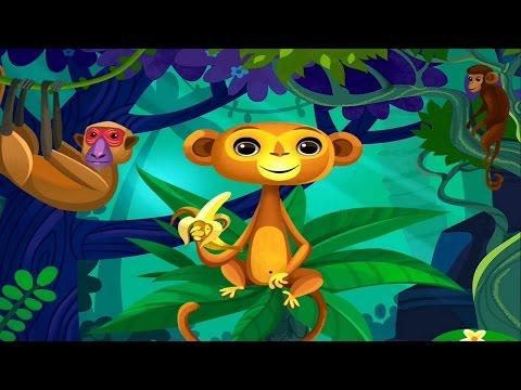 Развивающий мультфильм про животных Африки - Развивающие мультики для детей