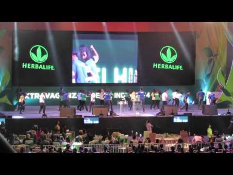 Herbalife Performance at IG Stadium Delhi