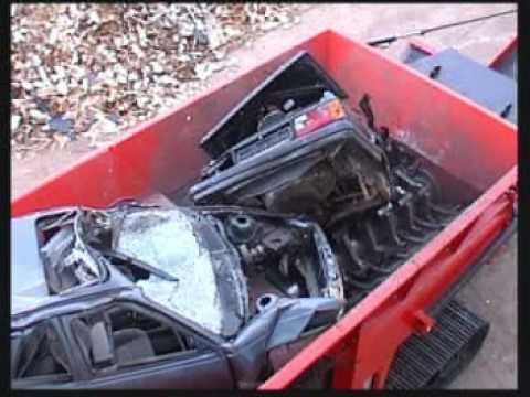Car Shredder Machine For Sale