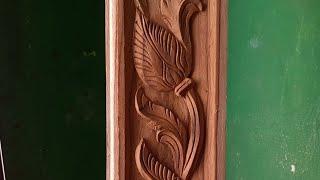 Vasakal side border variety model wood carving Mahindra AP