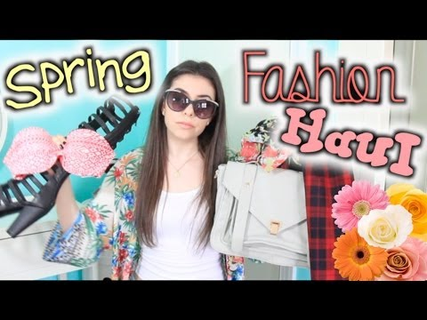 Spring Fashion HAUL 2014: Lulus, Target, Free People, & MORE!