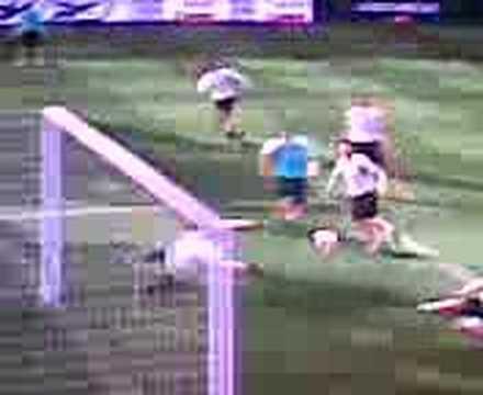 spettacolari gol in allenamento pes 2008