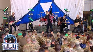 Morgan Wallen Performs 34 Whiskey Glasses 34 Wwe Tribute To The Troops 2018