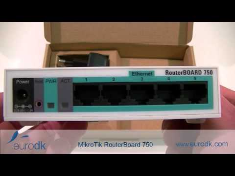 MikroTik RouterBoard 750 QUICK UNBOXING & SPECIFICATIONS