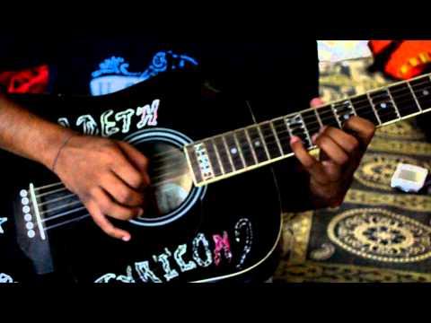 kitani mohabbat hai-guitar tune cover