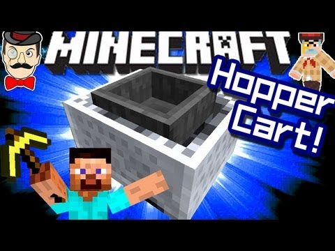 Minecraft New HOPPER CART in 1.5!