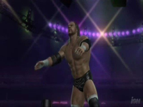 Triple H vs Shawn Michaels TLC WWE SvR 07
