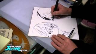 BAKUMAN: Takeshi Obata OFFICIAL Creator Sketch Video by SHONEN JUMP Alpha