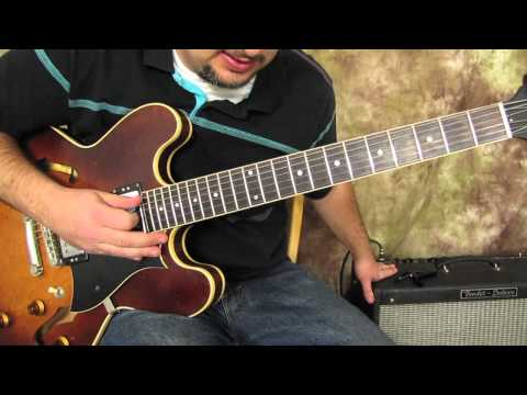Guitar Scales Lessons - Intermediate And Advanced - Modes - Minor - Dorian Mode