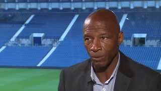 Cyrille Regis pays tribute to West Bromwich Albion legend Tony 'Bomber' Brown