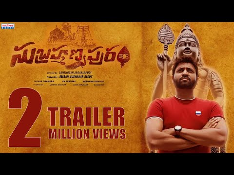 Subrahmanyapuram Official Trailer 4K || Sumanth , Eesha Rebba || Santhossh Jagarlapudi