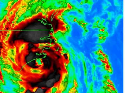 Hurricane Arthur Landfall Video Update