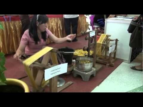Laos Handicraft Festival Opens: Watch how many traditional Laos handicrafts are made