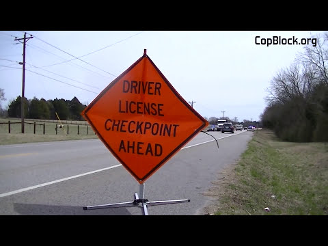 Papers Please! Drivers License Checkpoint in Rutherford County
