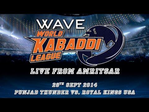 World Kabaddi League, Day 19: Punjab Thunder Vs. Royal Kings USA
