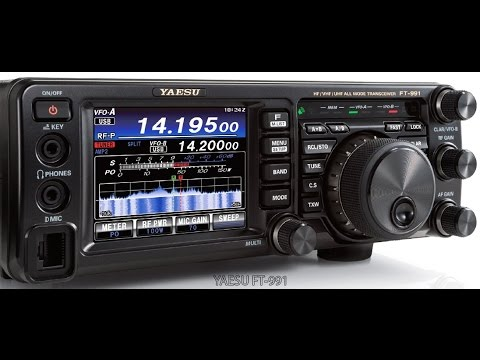 ALPHA TELECOM: YAESU FT-991 REVIEW. INSIDE VIEW. DEMONSTRATION. FEATURES and FUNCTIONS