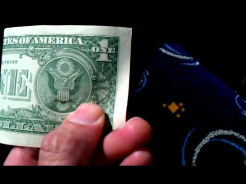 Secret Meaning Behind the One Dollar Bill Revealed