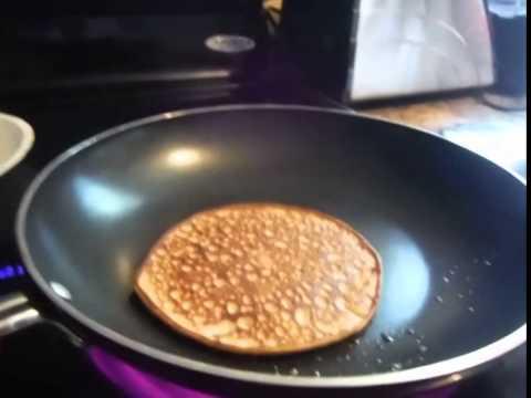 LCHF Cream Cheese Pancakes