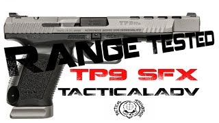 Canik TP9SFx, First shots and Range Break in