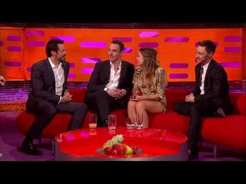 The Graham Norton Show - Hugh Jackman, Michael Fassbender, James McAvoy (русс. субтитры)