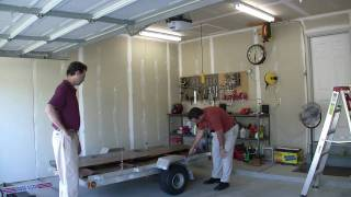 Winch Garage Trailer Lift - TATV#9