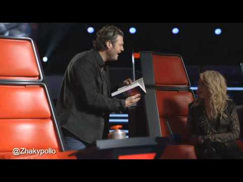 """The Voice"" Bloopers [#TeamShakira]"