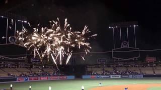 Dodgers Fireworks Tonight 7-21-2017