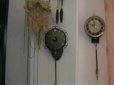 Schatz Swinging Clock Quot Queen Anne Quot Youtube