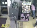 Girl Climbs INTO Arcade Toy Vending Machine Game. Hilarious