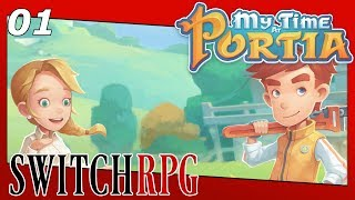 My Time at Portia - Nintendo Switch Gameplay - Episode 1 - Pa's Workshop