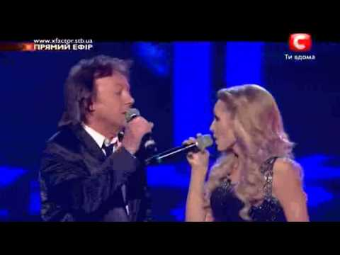 X-Factor Ukraine Finals Chris Norman and Aida Stumblin' In