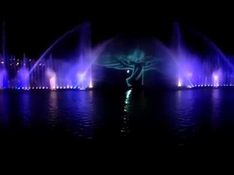 Відкриття Вінницького фонтану рошен 2018
