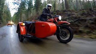 Cold-War Bike by Ural Sparks Sidecar Revival