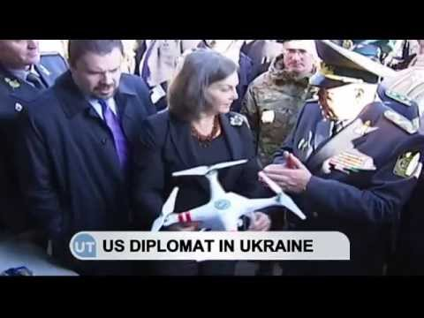 Nuland in Ukraine: Top US official pledges support for Ukraine's border service