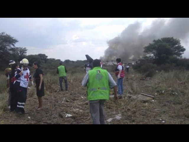 Aeromexico plane crash survivor speaks out