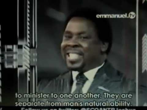 Tb Joshua Sermon - Being Controlled By The Holy Spirit's Power On The Inside video
