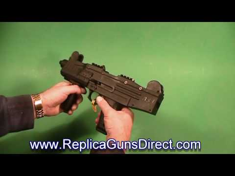 ASI UZI Fully Automatic Blank Firing Gun