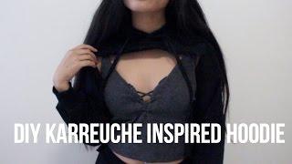 DIY Karrueche Inspired Hoodie