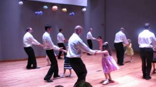"Russian school of arts ""Progress""Russin dance - father-daughter part 1 beginning"