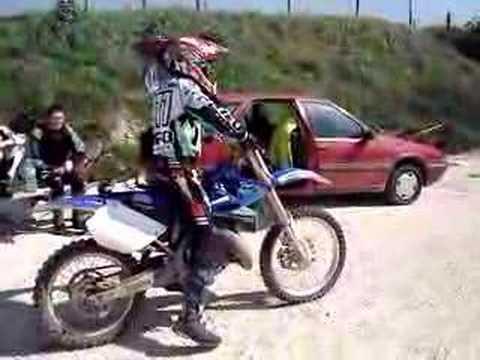 moto cross 125 cm3 - YouTube