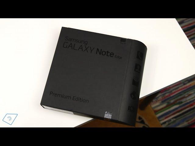 Samsung Galaxy Note Edge Unboxing (Deutsch) | tabtech