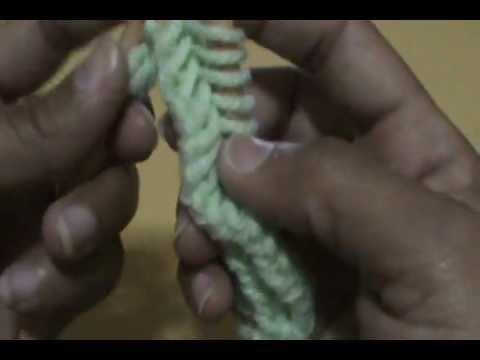 ผ้าพันคอนิตติ้งลายก้างปลา By...